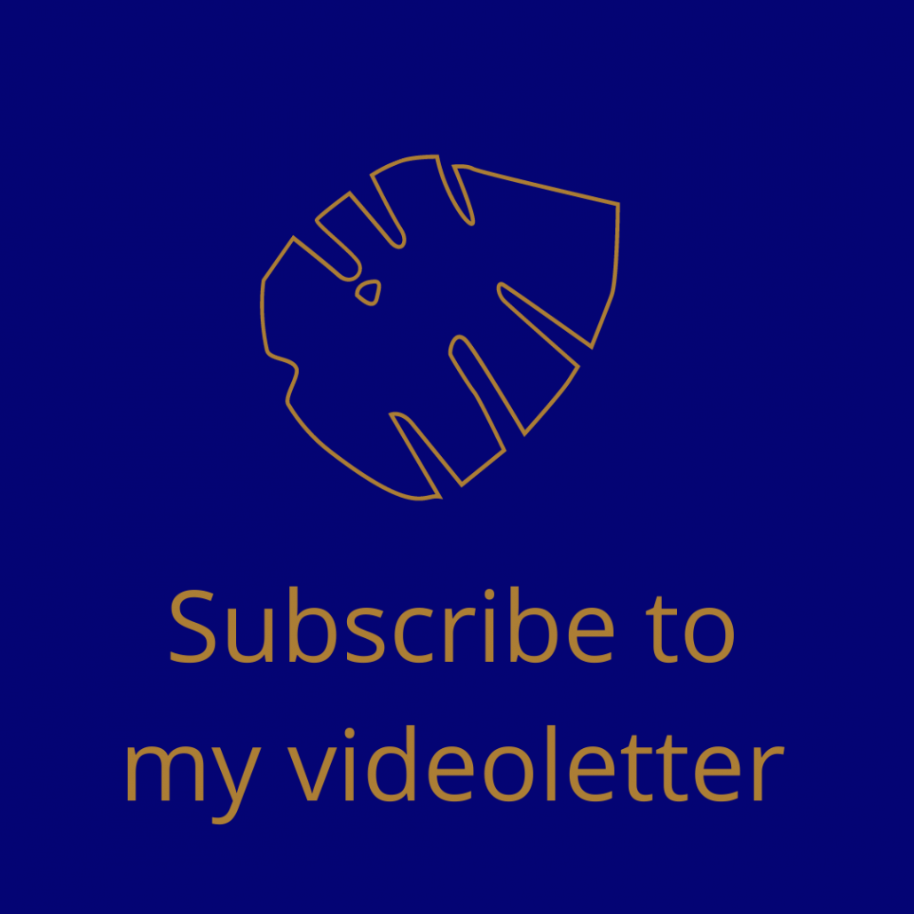 Subscribe to my videoletter